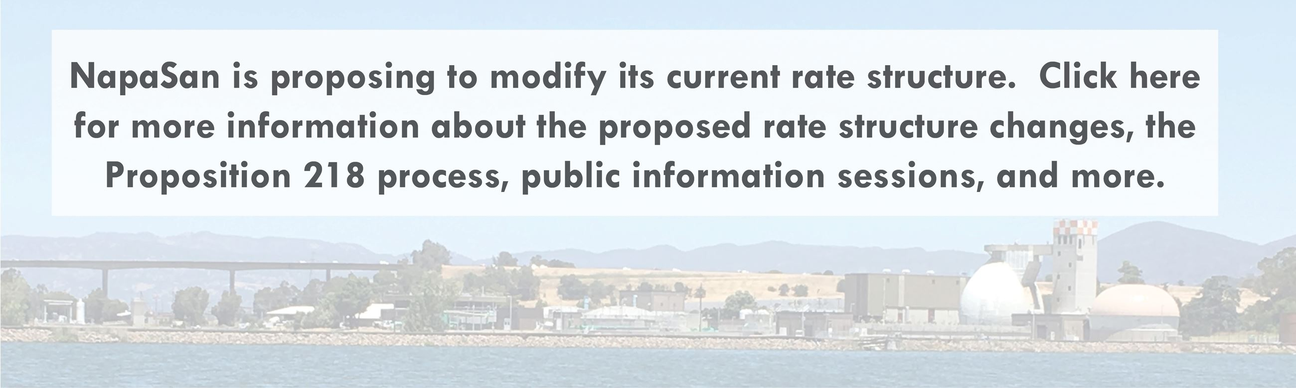 Click here for information about NapaSan's proposed rate structure changes.
